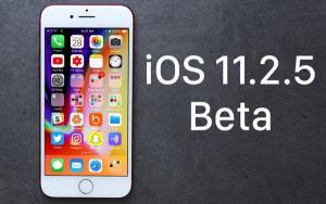 iOS 11.2.5新版发布:小修小补