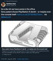 PS5开发机3D渲染图曝光 这就是一架飞船啊